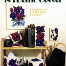 Leisure Arts Pansies in Bloom Plastic Canvas Leaflet