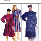Butterick 4487 Sewing Pattern Misses Loose Fitting Asymmetrical Dress Size 18 - 22 - Bust 40 - 44