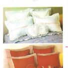 Butterick 6816 Sewing Pattern Pillows & Pillow Covers