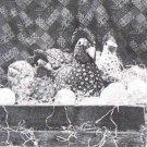 Ozark Calico Mini Hens & Chicks Sewing Pattern