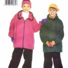 Butterick 5099 Sewing Pattern Girls & Boys Jacket Pants Cap Headband Size 7 - 10