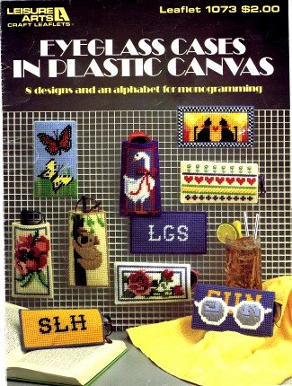 Leisure Arts Eyeglass Cases in Plastic Canvas