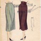 Vogue 7175 Sewing Pattern Misses Slim Skirt Waist 26