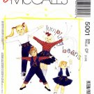 McCall&#39;s 5001 Sewing Pattern Girls Vest Tops Skirt Pants Size 4 - 6