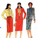 Vogue 7768 Sewing Pattern Misses Jacket Skirt Blouse Suit Size 12 - Bust 34