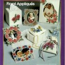 Aida Plus Floral Appliques Cross Stitch Pattern Book