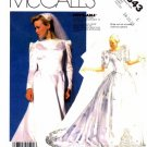 McCall's 2343 Sewing Pattern Misses Priscilla Bridal Brides Wedding Gown Dress Bust 36 - 40