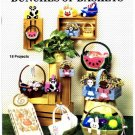 Kount on Kappie Bunches of Baskets Plastic Canvas Booklet
