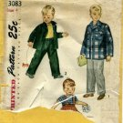 Vintage 1940's Simplicity 3083 Sewing Pattern Toddler Boys Slacks & Jacket Size 4