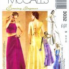 McCall's 3032 Sewing Pattern Formal Evening Tops Skirt Size 8 - 10 - 12