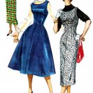 1950s Simplicity 1734 Teens Jumper with Two Skirts Size 12 Bust 32