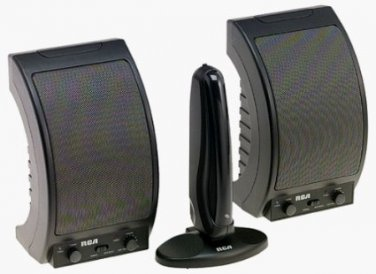 RCA WSP150 900 MHz Wireless Speakers