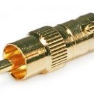 Monoprice BNC Female to RCA Male Adaptor - Gold Plated