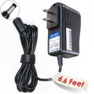 T-Power ( 6.6ft Long Cable ) Ac Dc adapter for GOLDS GYM Power Spin Golds Gym Powerspin 210u 230 23