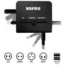 Vafru Smart QI Universal World Wide Travel Charger Adapter Plug Built-in Dual USB 3.1A[Newest Mold]