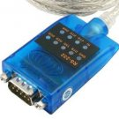 GearMo USB RS-232 Serial Adapter with LED Indicators Windows 8, 7, Vista, XP, 2000 Support
