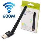 Motoraux 600Mbps Dual Band wireless USB wifi adapter,For Windows XP/Vista/7/8/8.1/10, Mint, Ubuntu,