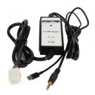Moonet For IPhone 5 Iphone 6 6 plus 3.5mm Car MP3 Player Radio Interface AUX in Adapter For Toyota