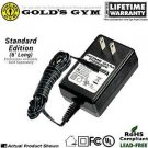 Gold's Gym Cycle Trainer 300C and 400R Home Gym Power® Wall Plug AC Adapter / Power Cord