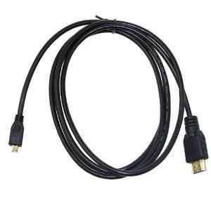 SLLEA (6FT) Micro HDMI 1080P A/V TV Video Cable Cord For Motorola Droid X 2 X II MB870 Phone