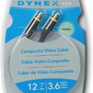 Dynex Composite Video Cable - 12ft (3.6M)!
