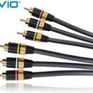 AUVIO Composite Video/Stereo Audio Cable 6-ft 15-218