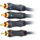 Phoenix Gold DVD KIT with 3 Meter Component video Cable and 1 Meter Digital Coaxial Cable