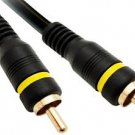 CableWholesale 12-Feet RCA Male/RCA Male High Quality Composite Video Cable (10R2-01112)