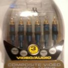 3ft. Acoustic Research Gold Plated Composite Video/audio Cable
