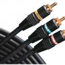 Monster Cable J2 HFVCR RM-6 Hi-Fi Stereo VCR to TV or A/V Receiver Hook-Up Cable Kit (6 Feet) (