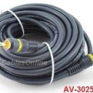 25ft High Quality Python? 1- RCA to 1-RCA Male/Male Cable Video, AV-3025B