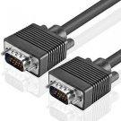 TNP Premium VGA to VGA Cable (50 Feet) HD15 Male to Male M/M VGA SVGA UXGA Extension Wire Cord