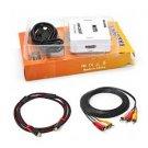 VAlinks® HDMI to AV Composite RCA CVBS Video, Audio Converter for TV / PS3 / VHS / VCR / DV