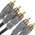Monster Standard THX-Certified Component Video/RCA Audio Kit (4 feet) (Discontinued by Manufact