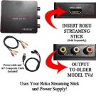 HDMI Converter for Roku Streaming Stick: Use your Roku Streaming Stick with Older TVs that have