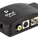 Pyle Home PRCA7504 Composite and S-Video to VGA Converter