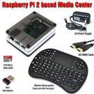 Raspberry Pi 2 Based - Extreme Xbmc Kodi Media Center - BW Case - Wireless Keyboard/Mouse Combo