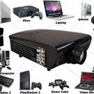 Giantex Best Hd Home Theater Multimedia LCD LED Projector 1080-hdmi Tv DVD Paystation