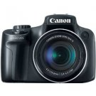 Canon PowerShot SX50 HS 12MP Digital Camera with 2.8-Inch LCD (Black)