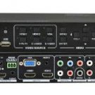 6-Ins Multi Format HDMI Video + Audio Presentation Switcher Scaler ANI-MINI601HD