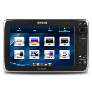 RAYMARINE Raymarine e127 Multifunction Display w/Sonar - Lighthouse Navigation Charts - NOAA Ve