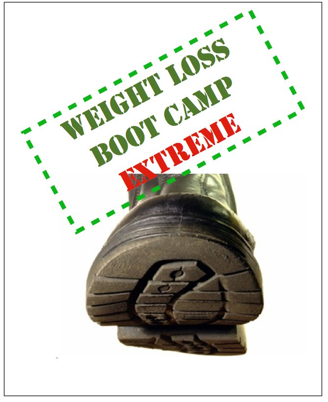 Weight Loss Boot Camp Extreme - Ebook