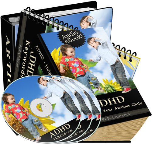 ADHD-Helping Your Anxious Child - MP3 Audio & Ebook