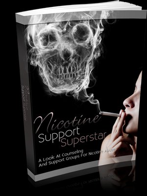 Nicotine Support Superstar - Break That Nicotine Addiction Today - eBook