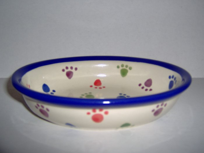 All Paws Small Oval Food Bowl FREE S&H!!!