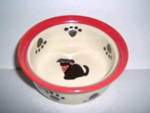 Pampered Pup Food Dish FREE S&H!!!