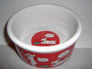 Comic Strip Food Dish Bowl FREE SHIPPING AND HANDLING!!!