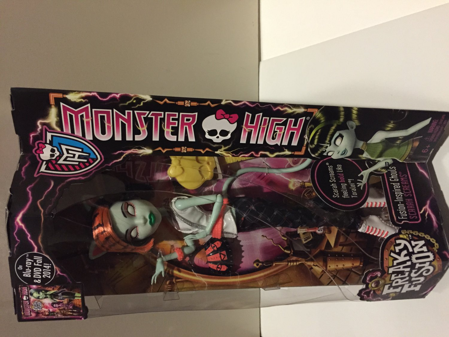 Monster High Freaky Fusion  Scarah Screams Doll