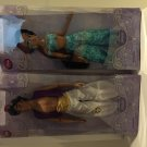 "Disney Store Exclusive/Authentic Aladdin & Princess Jasmine Doll-12"" H New in Box Set"