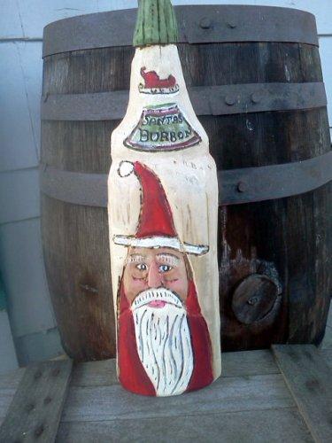 Santa's Bourbon Bottle